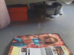 Cum tribute of WWE  diva Alicia Fox