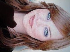 Emma Stone Cumshot 1