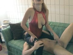 Castratrix Vanessa Loves Her Job 3 HJ PANTYHOSE FACE SITTING