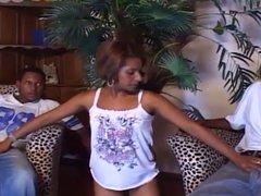 Ebony bisex MMF