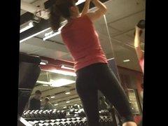 Mariana en el gimnasio
