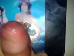 Anime Cum Tribute #02: Yoruichi Shihoin & Soifon ( Bleach )
