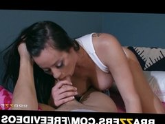 Horny sorority sister Mandy Haze has some satisfying sex