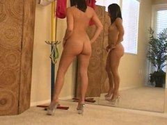 Girl and her Mirror 1