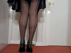 Sexy Black Satin