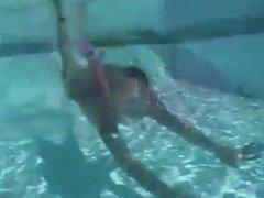 Sexy Bikini Babes Underwater
