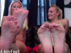 Worship our little toes footboy