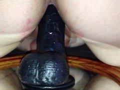 Big Black Dildo Fun