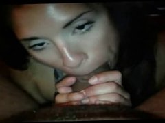 homemade girl sucking on big dick