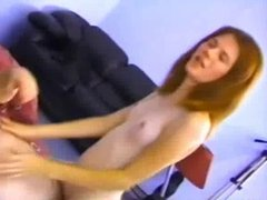 Skinny Lil' Tit Teen Anne Gets Assfucked