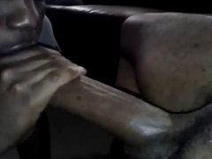 YOUNG BLACK SUCKING MONSTER COCK