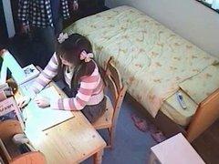 Hidden Camera Under The Table