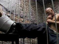 Prison Foot Worship and Foot Job LANCE HART + JESSIE COLTER