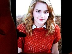 Cum Tribute For Emma Watson!