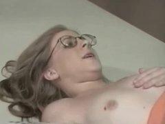 Nerdy Teen Brace Face Amber Gets Dorked By Older Teacher