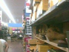 Blonde I Upskirted In Walmart