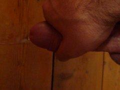 Huge cumshot #3. My big cock and 6 shots of cum.