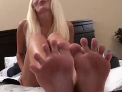 Best Footsmell JOI with Courtney