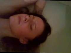 Girl Caught Masturbating in the Bathroom