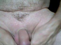 Cumshot with urethral insertion