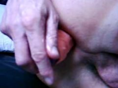 Tranny Arlette is keen for BIG Dildos