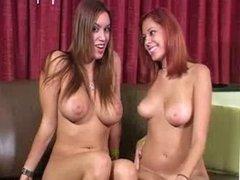 Nikki and her friend encourage jerking off