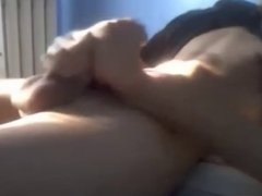 HOT TWINK JERKING AND CUM