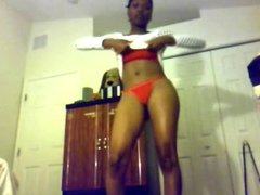 Youtube Twerker mzgorgeous023: Strippin naked 3
