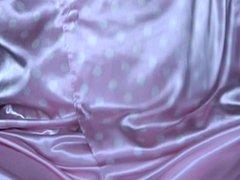 Pink Satin Pyjama 01