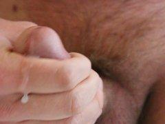 Another closeup cumshot circumcised cock