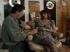 British slut Melanie fucked in a classic scene