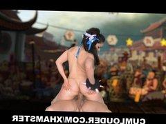 Latin fucked hard in this XXX Parody of Street Fighter