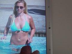 Cum on Britney Spears 14