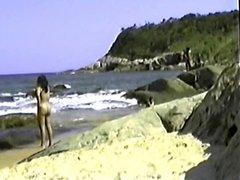 my exibitionist wife beatrice on beach 1