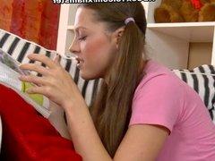 18 year old girl deep throat