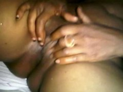 My African Girlfriend - Pussy play