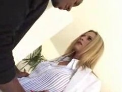Blonde Accountant With Hot Body Fucks 14 Inch Black Cock