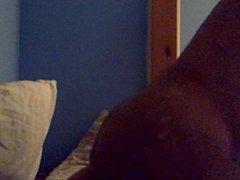 big bed leg up mans arse...