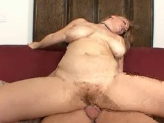 Sierra Big Tits And Red Furry Pussy Fucked