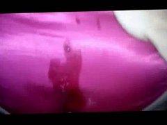 satin pink panty