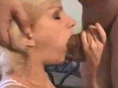 blonde amateur fucks and sucks