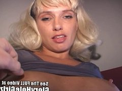 Mallory Knox blonde chick fisted in the gloryhole