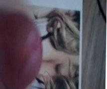 Celebrity Cum Tribute #03: Mariah Carey's Tits ( Old Video )