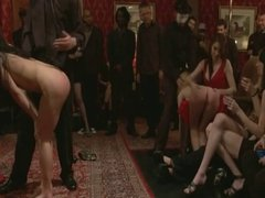 Spanked at Party