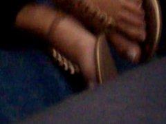 arab hot sexy toes close