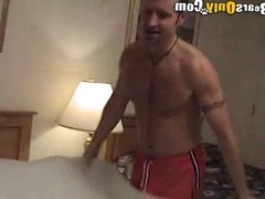 Hunky Roommates Into Oral Sex