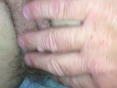 my wifes hairy asshole & pussy.