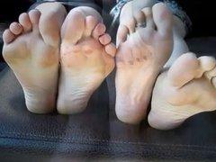 Footsie, toe wrestling