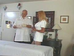 Nurse with big dick dominates guy