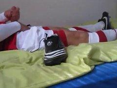 Fun in Nike football soccer kit